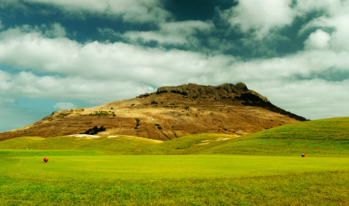 Pico Ana Ferreira from Porto Santo golf course