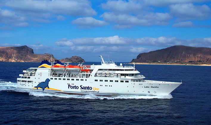 The Porto Santo Ferry, Lobo Marinho